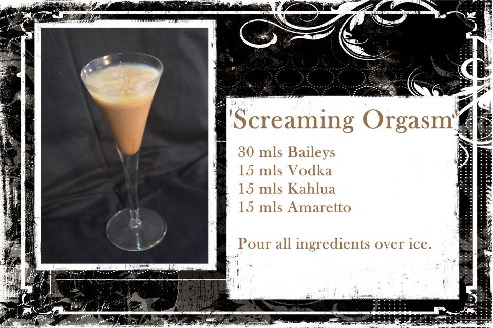 Recipe screaming orgasm
