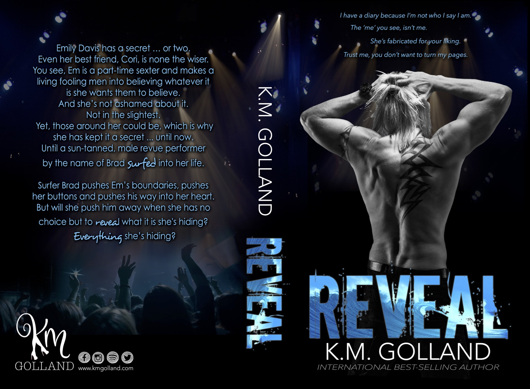 Reveal PB createspace