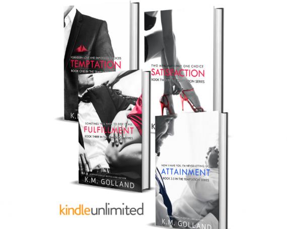 TEMPTATION SERIES: Temptation, Satisfaction, Fulfilment, Attainment